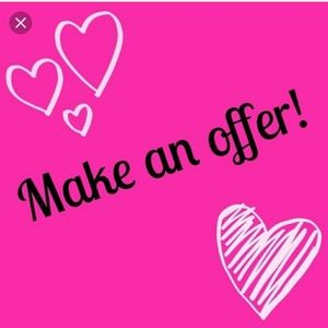 Other - Most reasonable offers accepted 💕